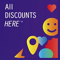 Логотип All DISCOUNTS HERE